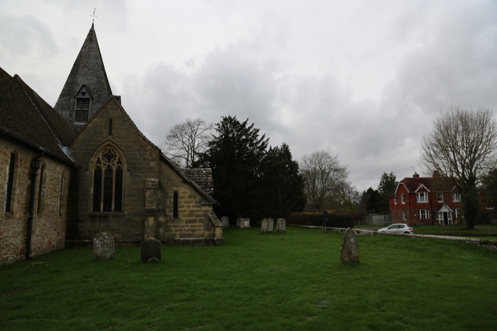 East-Facing end of Church